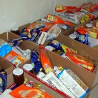 pacchi alimentari