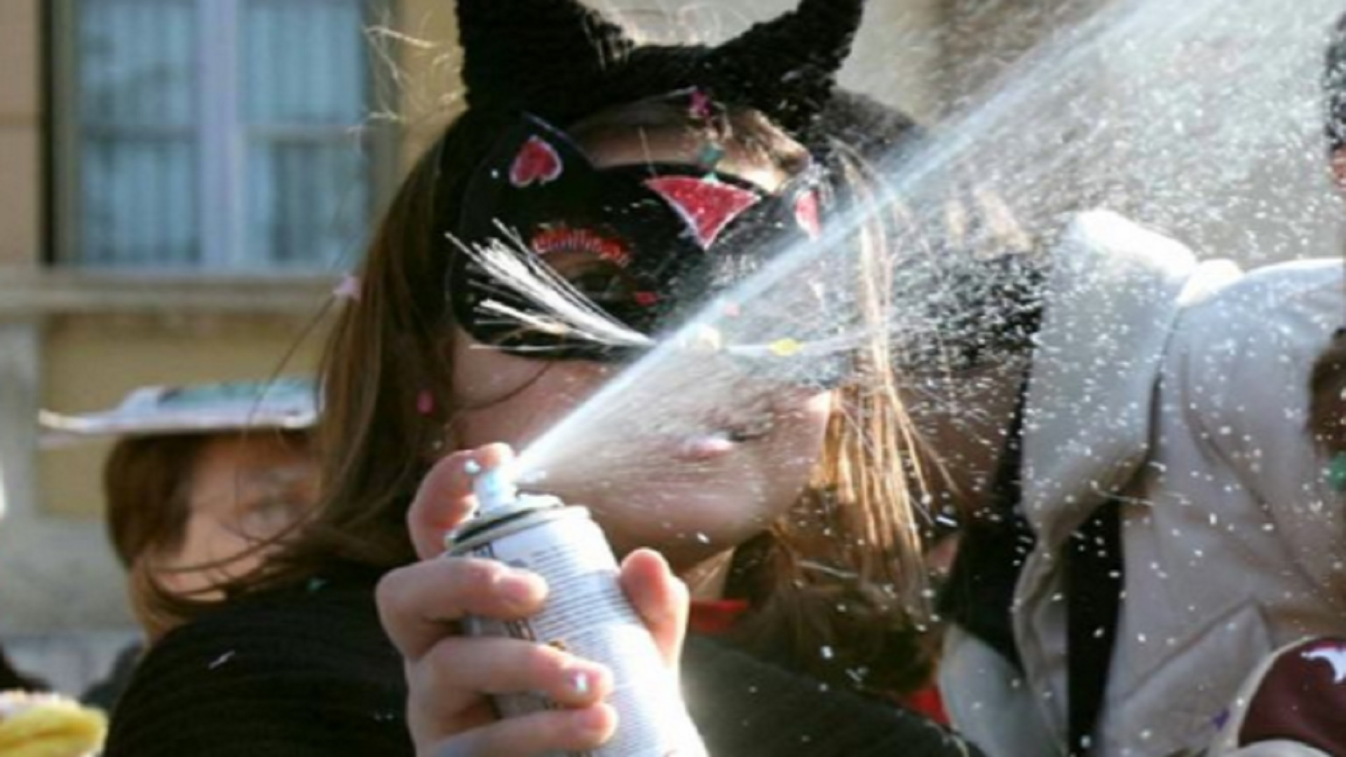 bombolette spray carnevale