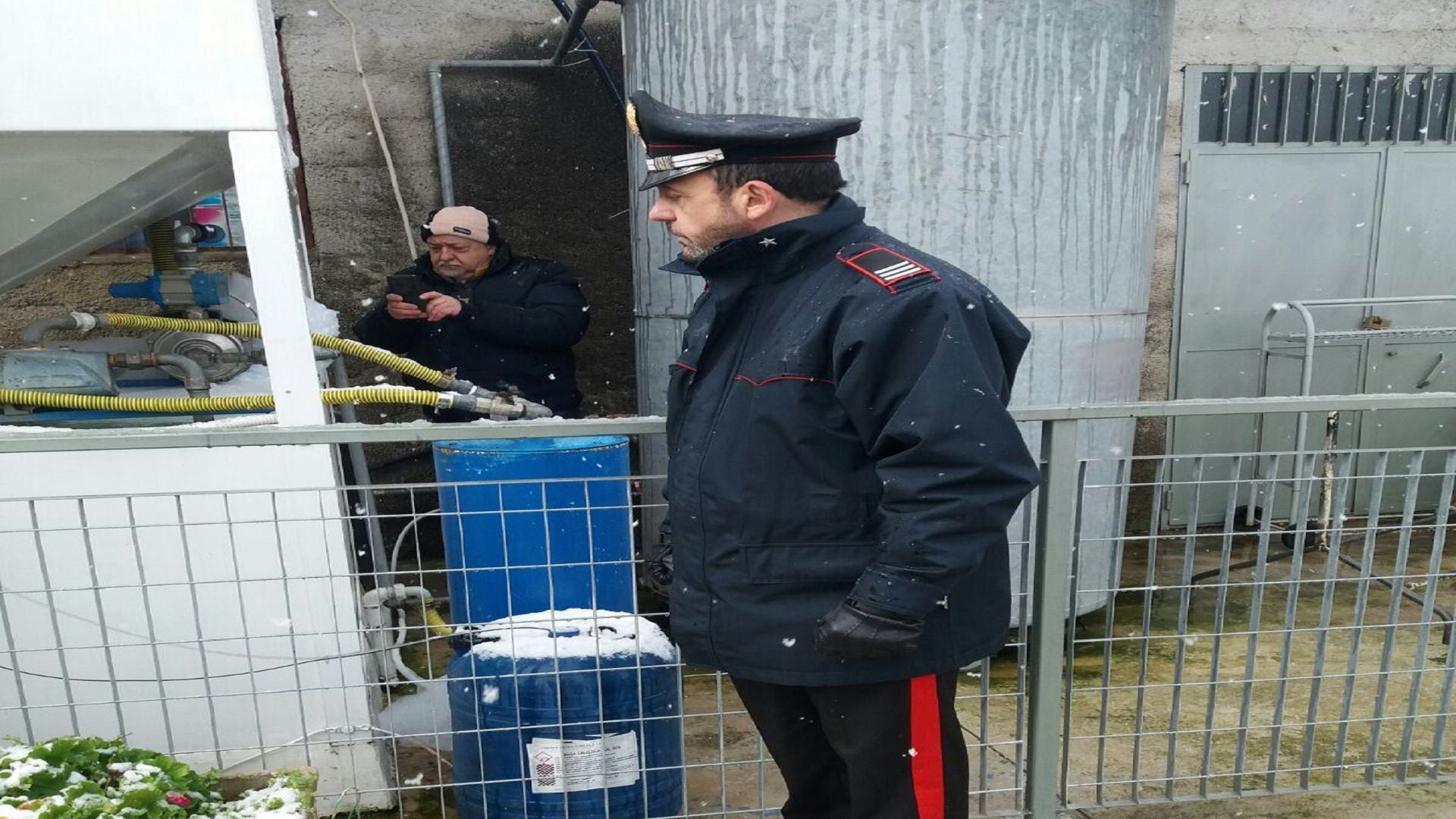 autolavaggio carabinieri