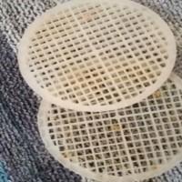 dischetti di plastica