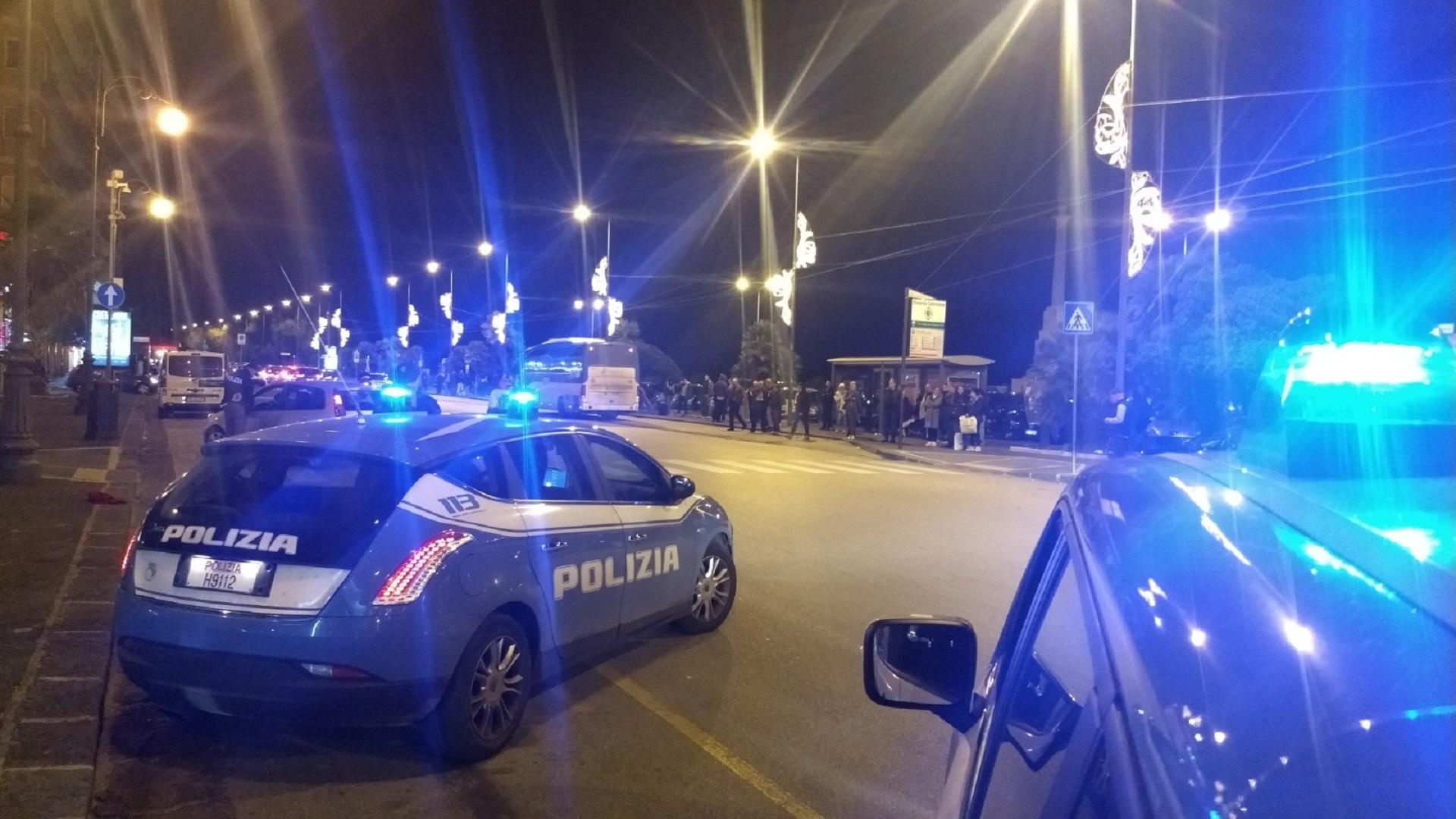 Controlli della Polizia a Salerno