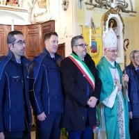 foto con vescovo
