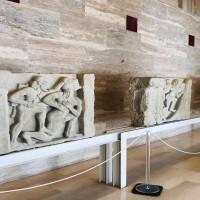 Metope dal Santuario di Hera alla foce del Sele