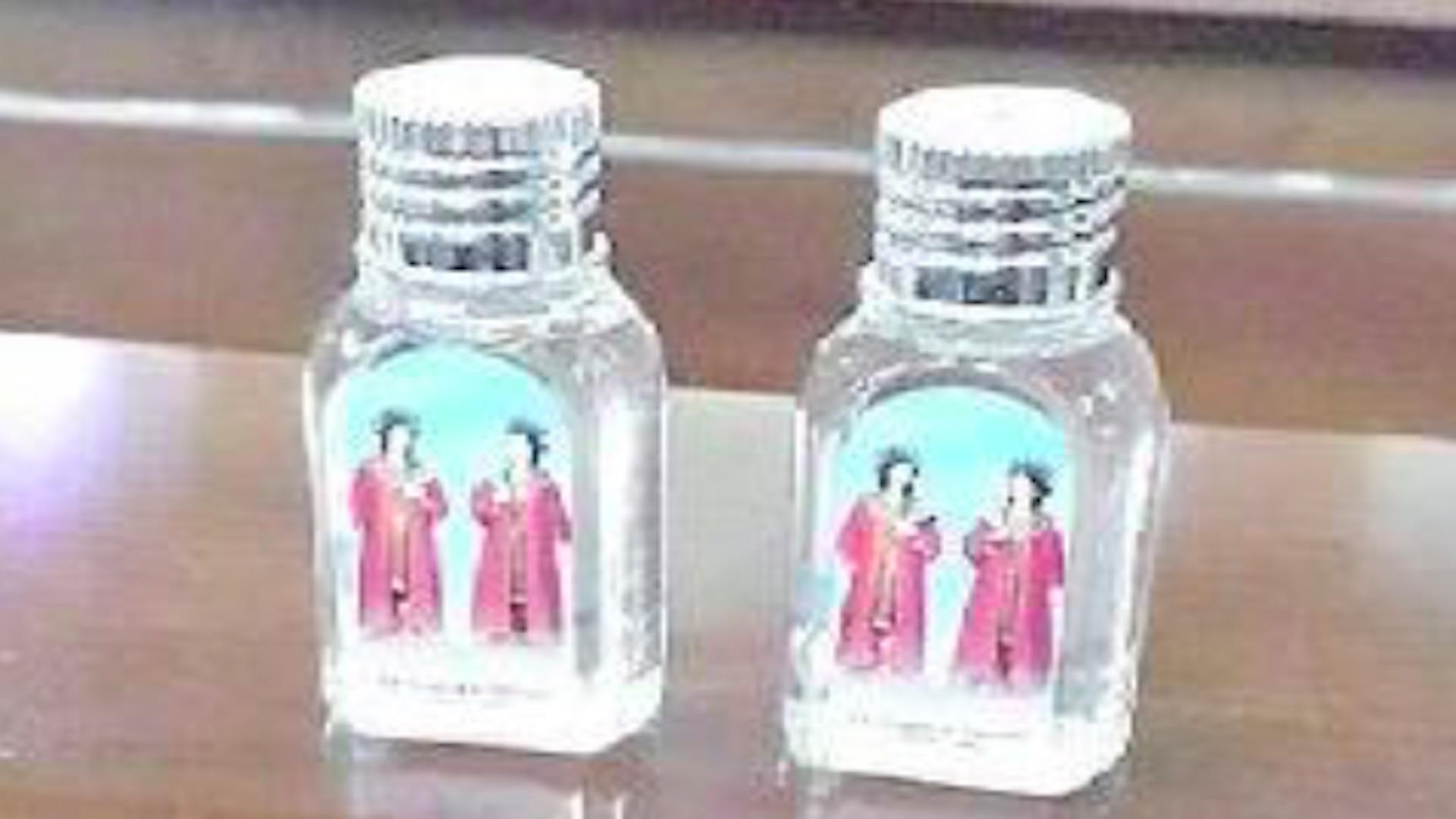 bottiglie acqua santa