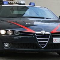 Una volante dei carabinieri