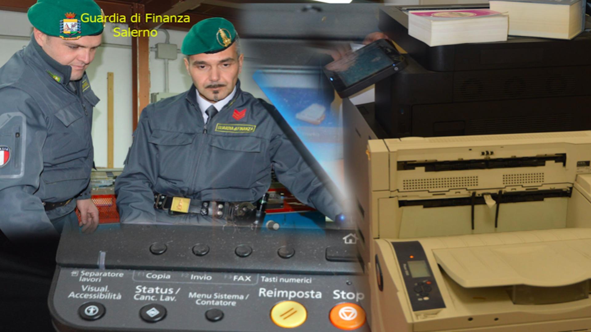 finanza fotocopie