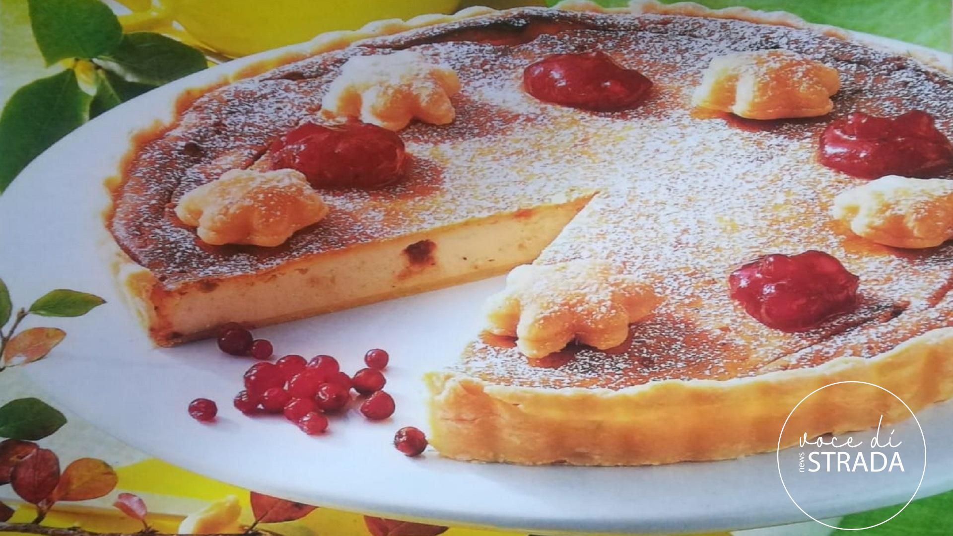 torta con i mirtilli