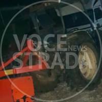 trattore rubato eboli