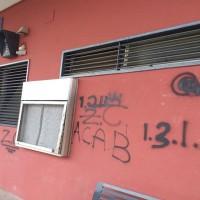 vandalizzata stazione baronissi