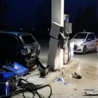 ladri stazione carburante battipaglia