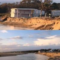 Gli effetti dell'erosione costiera