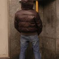 urina in strada